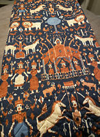 Rare Inger McCabe Elliott Martex Magical Kingdom Quilted Full Bedspread VTG 1976