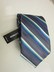 Men's EXPRESS 100% Silk Tie $50 NEW WITH TAGS