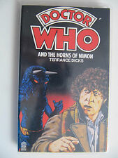 Doctor Who and the Horns of Nimon by Terrance Dicks (1980) Target Paperback 31