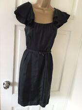 STUNNING COAST LITTLE BLACK COCKTAIL DRESS SIZE 12