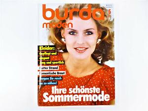 burda moden- Mai/1983 mit Schnittbögen, flotter Strand, romantische Braut