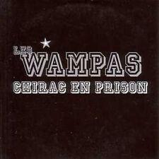 CD Single Les WAMPAS Chirac en prison Promo 1 track