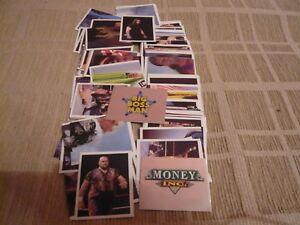 MERLIN WWF WWE 1992 COMPLETE STICKER SET + ALBUM RARE VINTAGE HOGAN UNDERTAKER