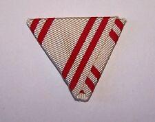 Austria Austro Hungarian Ribbon Drape Royal Order Knight Merit Red Cross WWI War