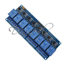 12V 8Channel Relay Shield Module Board For Arduino UNO 2560 1280 ARM PIC AVR