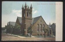 Postcard Easton Pennsylvania/Pa Olivet Presbyterian Church view 1907