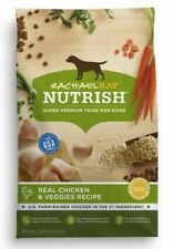 2 Rachael Ray Nutrish Natural Dry Dog Food, Real Chicken & Veggies Recipe 6 Lbs