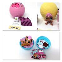 LOL Surprise GRRRL Doll Lot Set Big & Lil Sister & Pet Skunk Skunnnk Series 3 4