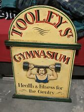 Antique Tooley Street Gymnasiam Advertising Sign