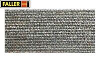 """Faller H0 170603 Mauerplatte """"Naturstein"""" (1m² - 57,28€) - NEU"""