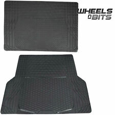 Rubber Car Boot Liner Mat Universal Protector L or XL to fit Fiat Stilo Panda