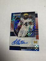 Josh Metellus 2020 Panini Prizm Draft Picks RC Red/White/Blue Prizm Auto /99