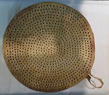 Antique Drum Sieve - Handcrafted Wooden Riddle Drum Sieve