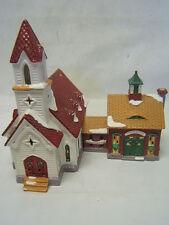 "Dept 56 Snow Village ""Good Shepherd Chapel and Church School"" #5424-0 GUC"