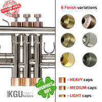Bach Trumpet Trim kit. KGUBrass. For all Stradivarius, Artisan, US models.Custom