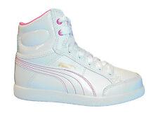 Basket montant Puma IKAZ MID fille blanche P 38