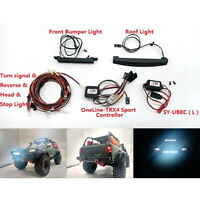 SY-RC One-Line RC Car LED Light Lámpara Luz Kit for TRAXXAS TRX-4 Sport 1/10 RC