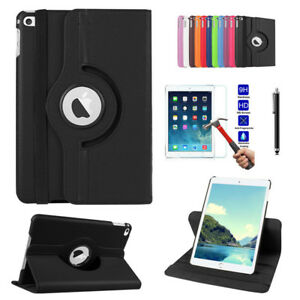 360 Swivel Case Magnetic Smart Cover Stand For Apple iPad 5 6 Air 2 3 4 Mini Pro