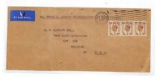 HH184 1939 GB Imperial Airways Cover NY USA {samwells-covers} PTS