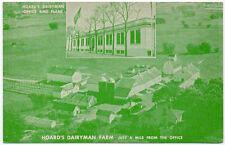 Postcard Hoard's Dairyman Farm, Office & Plant in Fort Atkinson Wisconsin~106598