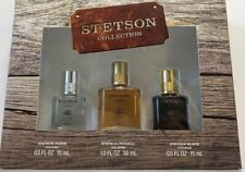 Stetson COLLECTION 3 Piece Gift Set FRESH+ORIGINAL+BLACK Cologne MEN