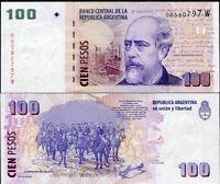 2017 Argentina P-358cr UNC /> REPLACEMENT 100 Pesos ND
