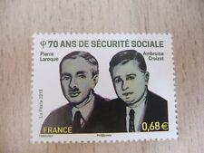 France  n° 4981 (  70 Ans de la Sécurité Sociale )  Neuf ** Année 2015