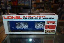 Lot 7-98 * 0 Gauge Lionel 6-9319, Silver TCA Bullion Car * Nice w/Box