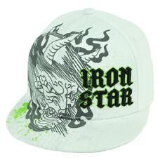Iron Star Born Brawl Fighter Ufc Mixed Martial Arts Snapback Flat Bill Hat Cap