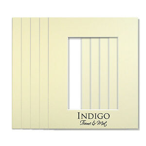Set of 10 - 11x14 Antique White Single Mats, backings Fit 8x10 - $12 Shipping!