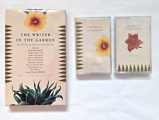 The Writer in the Garden 2 Cassette Tapes 44 Author Selections Colette EB White