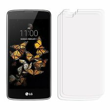 [2 Pack - HD Clear] Screen Cover Guards Protectors For LG K8