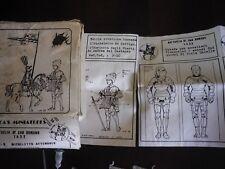 Luca s miniatures / san romano 1432 / 2 knights / 54mm no 90mm no pegaso andrea