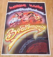 BEATLEMANIA Affiche cinéma 120x160 JOSEPH MANDUKE, WEISSMAN - BEATLES MUSIQUE