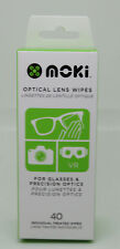 Moki Optical Lens Wipes for Glasses and Precision Optics Phone Cleaning 40 Pack