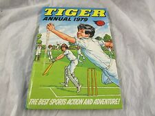 **LOOK** Superb Fleetway TIGER ANNUAL 1979 Unclipped Lovely Cond FREE UK P+P