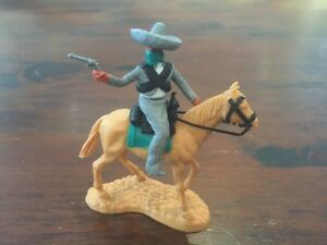 Timpo Masked Mexican Bandit - Grey Sombrero - Wild West - 1970's