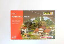"""Faller H0 190287, Bahnhof-Set """"Talheim"""", neu, OVP"""