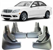 OEM Mud Flaps Splash Guards For 2008-2011 Mercedes Benz C Class AMG / C63 Sedan