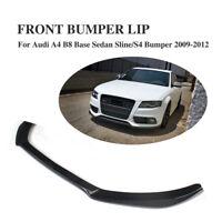 CUP Spoilerlippe Carbon Frontlippe Für Audi A4 B8 S line S4 Front Ansatz Spoiler