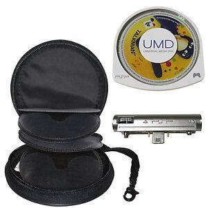 8cm Disc Storage Travel Case PSP Upto 8 UMD TalkMan Translator with Microphone