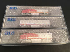 KATO N-Scale Santa Fe EMD F3A/19 F3A/19C F3B Warbonnet LOCO DCC Ready AT&SF