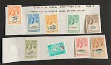 TRISTAN DA CUNHA 1960 Definitives Stamp Sea Life Lot Collection