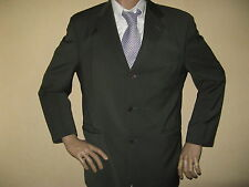 MENS OLIVE GREEN WOOL SINGLE BREASTED FERAUD FASHION SUIT 40S CHEST 36 WAIST 30L