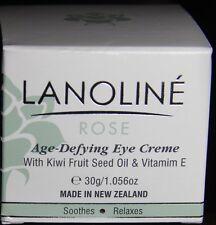 Lanoline Rose Hip Oil Age-Defying Eye Creme Kiwi Fruit Seed Oil 1.056oz, Nib