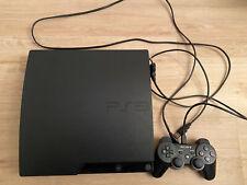Sony PlayStation 3 Slim 320GB Charcoal Black (CECH-3004B) PS3HEN