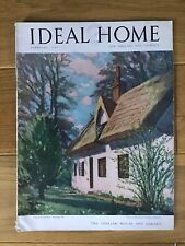Vintage Ideal Home Magazine. February 1949. Rare Collectors Item