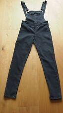 Sexy Jeans Latzhose Latz-Hose Latzjeans H&M Schwarz Gr. 36 S w NEU TOP