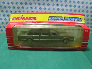 Vintage - Limousine G - 1/32 Majorette Ref.3045 Series Super Movers