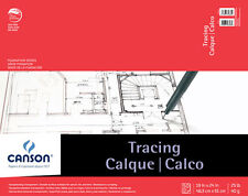 CANSON//FILA CO 100510983 VIDALON VELLUM TAPE BOUND 50 SHEETS PAD 9X12